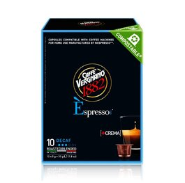 Vergnano Decaffeinated Nespresso капсули 10бр.